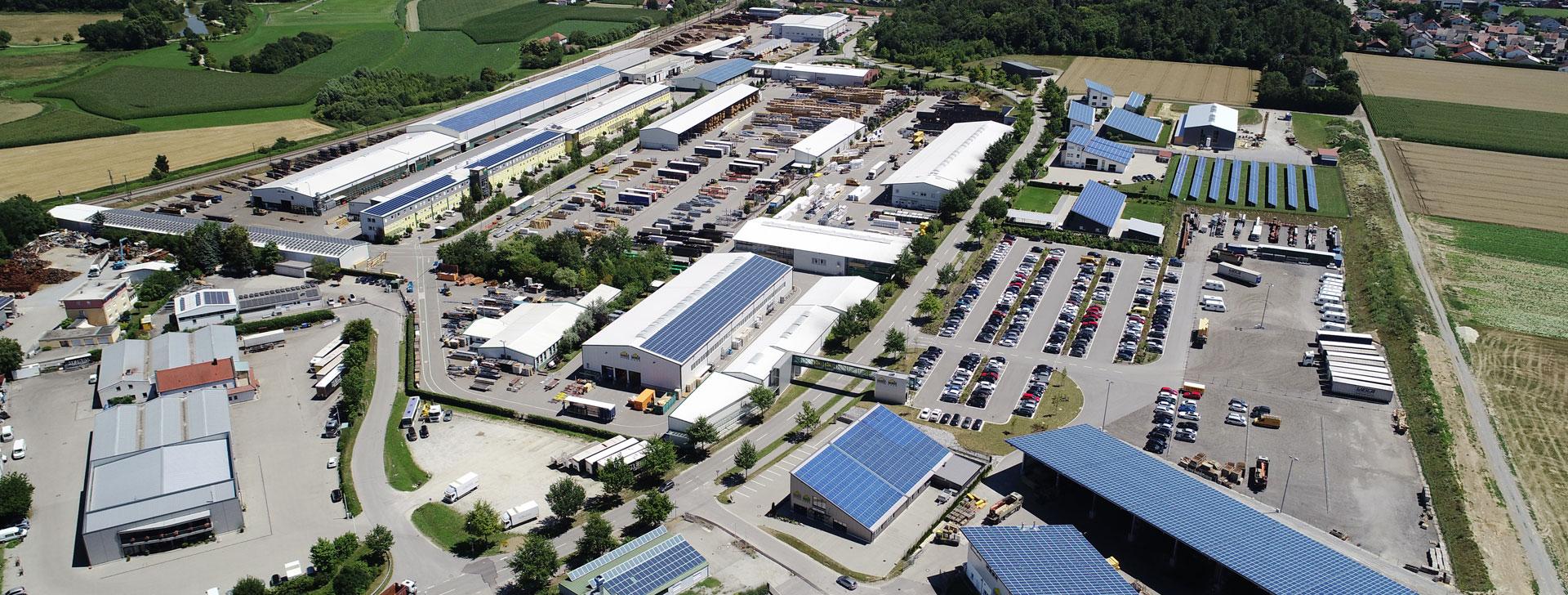 Luftaufnahme Firmengelände