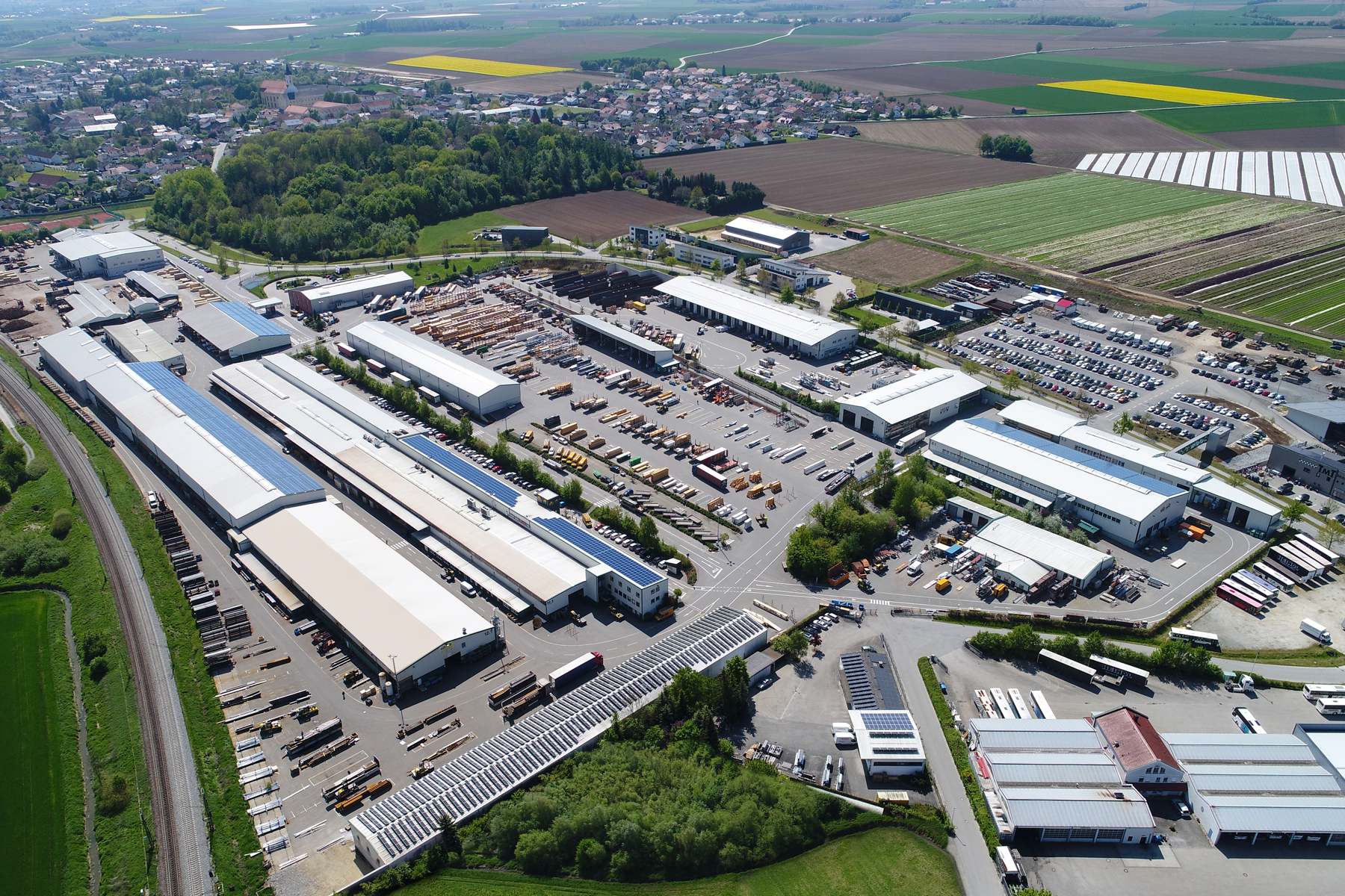 Luftbild Wolf Osterhofen